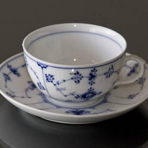 Blue Traditional, Plain, Teacup / Coffee cup 1dl, Bing & Grondahl | No. 4815-17 | DPH Trading