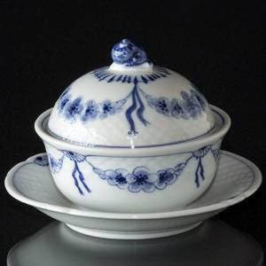 Empire tableware Bowl with lid, Butter Bowl or Jam bowl, Bing & Grondahl | No. 4825-35 | DPH Trading