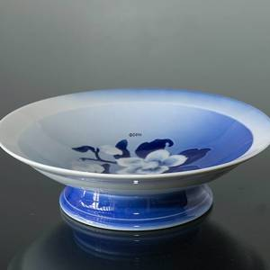 Round bowl on stand Service Christmas rose, 20cm | No. 4835-223 | Alt. 4835-428 | DPH Trading