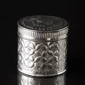 Box with pattern, large, nickel 12 x 12 cm