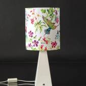 White Mexico table lamp