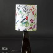 Black Mexico table lamp
