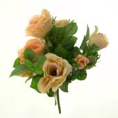Artificial rose bush, small, pearch