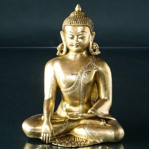 Buddha Statue The Earth is Witness Bhumisparsa Mudra | No. 7021 | Alt. 93600 | DPH Trading