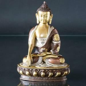 Buddha Statue The Earth is Witness Bhumisparsa Mudra | No. 7023 | Alt. 121200 | DPH Trading