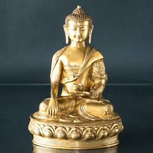 Buddha Statue The Earth is Witness Bhumisparsa Mudra | No. 7058 | Alt. 205900 | DPH Trading