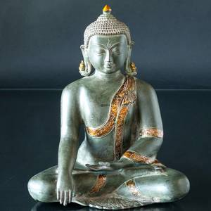 Buddha Statue The Earth is Witness Bhumisparsa Mudra | No. 7060 | Alt. 206500 | DPH Trading