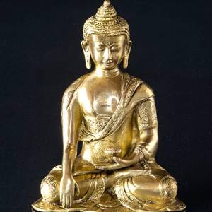 Buddha Statue The Earth is Witness Bhumisparsa Mudra | No. 7064 | Alt. 215400 | DPH Trading