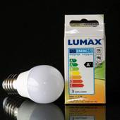 E27 LED Crown bulb, 3W 260Lm (correspond to 26 watt)