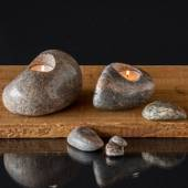 """Candle- stone"" Multi colours - assorted"