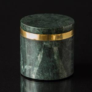 Marble lid jar small | No. 881379 | DPH Trading