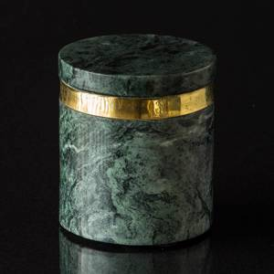 Marble lid jar large | No. 881380 | DPH Trading