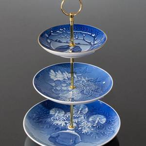 Complete Bing & Grondahl Centerpiece made of Bing & Grondahl Plates, | No. 8970 | Alt. 897 | DPH Trading
