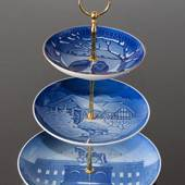 Complete Bing & Grondahl Centerpiece made of Bing & Grondahl Plates,