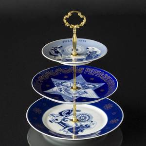 Complete Centerpiece made of Porsgrund and Ravn plates and fittings etc. | No. 9002 | DPH Trading