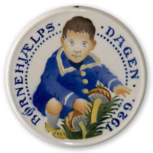 1929 Aluminia Child Welfare plate | Year 1929 | No. AB1929 | Alt. AB290 | DPH Trading