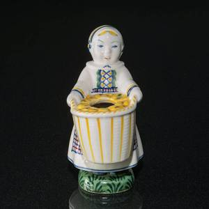 Cousin from Amager, 1943, Aluminia Children´s Day figurine no. 2284