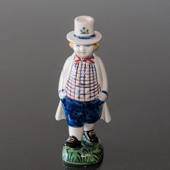 Farmer boy, Hans 1948 1948, Aluminia Children´s Day figurine no. 2547