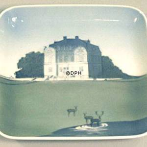 Dish with The Hermitage, Bing & Grondahl | No. B1300-6533 | DPH Trading