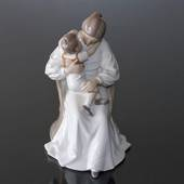 Mother and child, Bing & grondahl figurine no. 1021401 / 1552