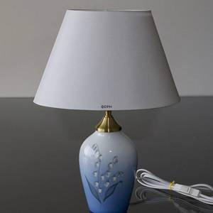 Lamp with Lily-of-the-Valley, Bing & Grondahl