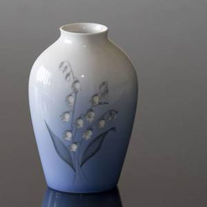 Vase with Lily-of-the-Valley, Bing & Grondahl | No. B157-5239 | Alt. B57-239 | DPH Trading