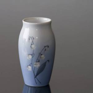 Vase with Lily-of-the-Valley, Bing & Grondahl | No. B157-5255 | Alt. B157-255 | DPH Trading