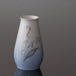 Vase with Lily-of-the-Valley, Bing & Grondahl No. 157-5256 | No. B157-5256 | Alt. B157-256 | DPH Trading