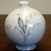 Vase with Lily-of-the-Valley, Bing & Grondahl