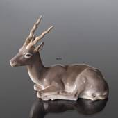 Antelope lying down, Bing & Grondahl figurine No. 1693