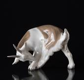 Goat licking, Bing & Grondahl figurine