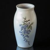 Vase with Wisteria 12cm, Bing & grondahl