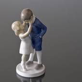 Beloved Big Brother, boy and girl, Bing & Grondahl figurine of children No....