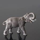 Elephant with its trunk raised, Bing & Grondahl figurine