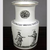 Vase with Scenes from Comedies by The Classic Playwright Terents, Bing & Gr...