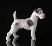 Wirehaired Terrier, Bing & Grondahl dog figurine