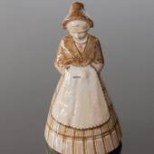 Lady in national costume, Bing & Grondahl ceramic figurine