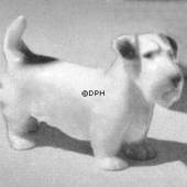 Sealyham Terrier, standing, Bing & Grondahl dog figurine