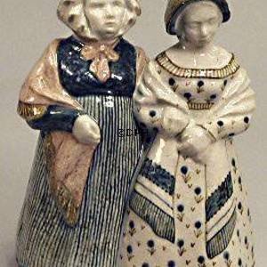 Ladies in national costumes, Bing & Grondahl ceramic figurine | No. B209-S | DPH Trading