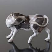 Cow licking its back, Bing & Grondahl figurine no. 1020446