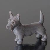 Scottish Terrier standing 7,5cm, Bing & Grondahl dog figurine