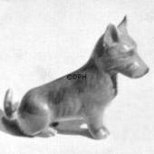 Scottish terrier sitting, Bing & Grondahl dog figurine