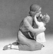 Mother and child, Bing & Grondahl figurine