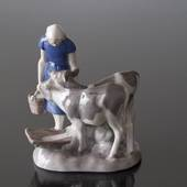 Girl with calves, Bing & Grondahl figurine No. 2270