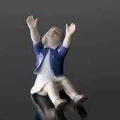 Up to mommy, girl lifting arms for her mom, Bing & Grondahl figurine no. 10...
