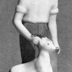 Boy with dog, Bing & Grondahl figurine