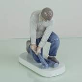 Pipe Fitter, Bing & Grondahl figurine