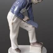 Cabinetmaker or Carpenter doing his carft, Bing & Grondahl figurine