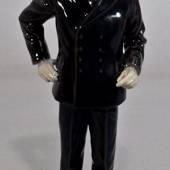 Policeman in uniform keeping the peace, Bing & Grondahl figurine