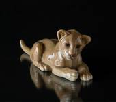 Lion Cub, lying down, Bing & Grondahl figurine